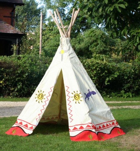 garden games kinder wigwam wild west cowboys und indianer design sandkasten spass. Black Bedroom Furniture Sets. Home Design Ideas