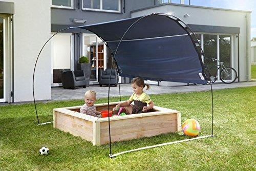 SKINCOM Sonnenschutz Premium -Garten Pavillion -Sonnensegel Sandkasten UV-Schutz