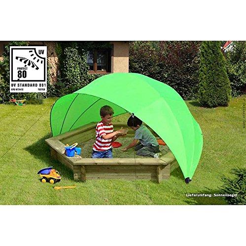 Sonnenschutz Laura für Kinder im Sandkasten mit UV 80