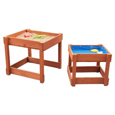 spieltisch sand und wasser set sandkasten spass. Black Bedroom Furniture Sets. Home Design Ideas