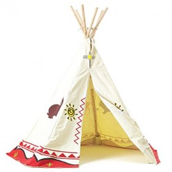 Garden Games Kinder Wigwam Wild West Cowboys und Indianer-Design