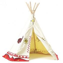 Garden Games Kinder Wigwam Wild West Cowboys und Indianer-Design
