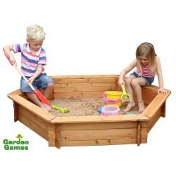 Garden Games Sandkasten sechseckig