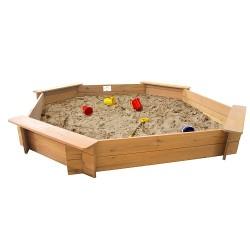 Garden Games Sandkasten achteckig